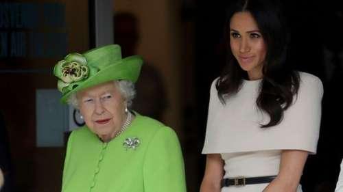 Meghan Markle : ces images devenues introuvables que la reine Elizabeth II a fait interdire