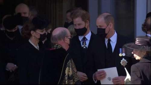 Kate Middleton : comment elle a mis sa colère de côté pour rapprocher Harry et William aux obsèques du prince Philip