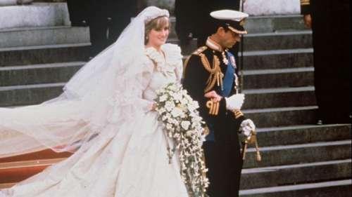 L'histoire derrièrele look. Lady Di : cette maladresse de la princessequi a failli ruiner sa robe de mariée