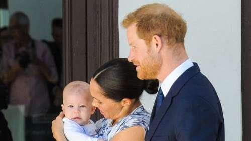 Meghan et Harry : ils dévoilent une nouvelle photo d'Archie pour l'anniversaire de ses deux ans
