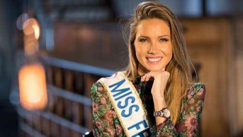 Amandine Petit : Miss France 2021 dévoile sa nouvelle écharpe pour le concours de Miss Univers