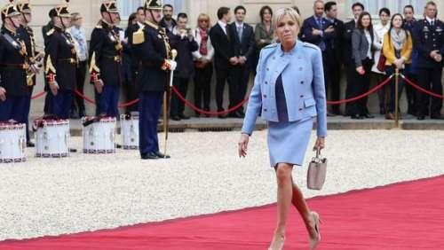 Brigitte Macron garde-t-elle les vêtements des marques de luxe qu'elle porte ?