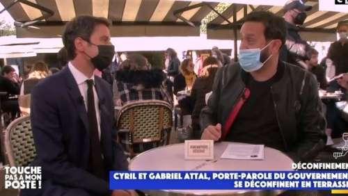 TPMP : cette scène lunaire de Cyril Hanouna et Gabriel Attal dans les rues de Paris