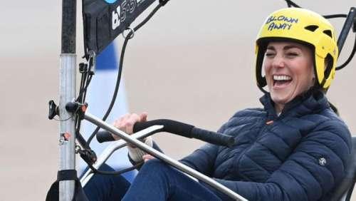 Kate Middleton : un sans faute pour ce look choisi pour affronter William dans une drôle de course !