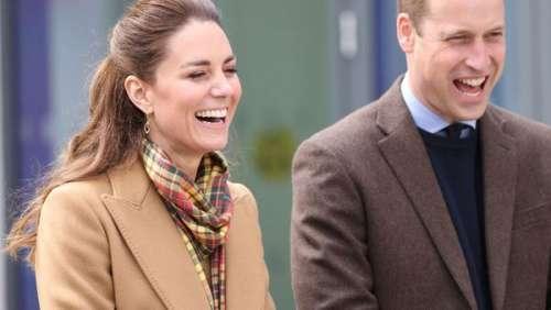 """Kate et William : leur """"date"""" inattendu au volant du Land Rover du prince Philip"""
