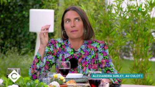 Alessandra Sublet : cet appel inattendu qui a changé sa vie