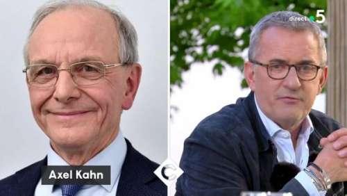 Axel Kahn : Christophe Dechavanne lui rend un hommage bouleversant dans C à Vous