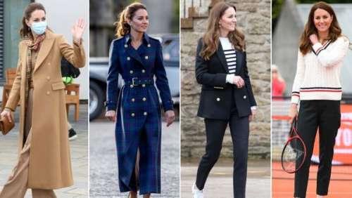 Kate Middleton : tous les looks so chic de son dernier voyage