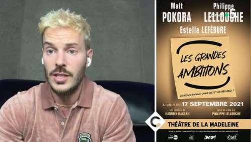 M Pokora bientôt au théâtre : ses confidences sur ses premiers pas sur scène