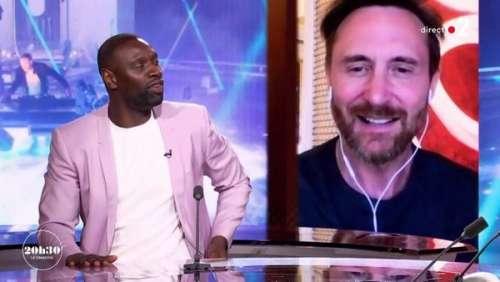 David Guetta : sa petite blague stylée sur Omar Sy dans 20h30 le dimanche