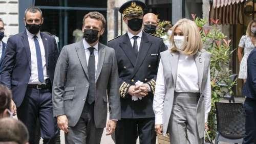 Brigitte Macron : ce geste tendre et ce seul mot qui en disent long après la gifle reçue par son mari