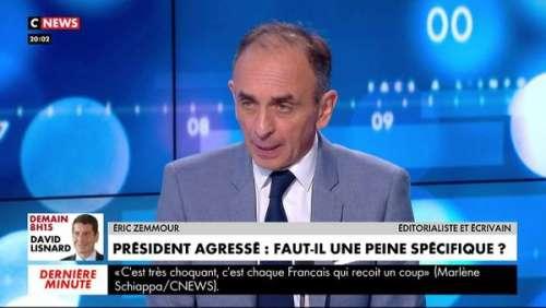 Emmanuel Macron giflé : la position intenable d'Eric Zemmour
