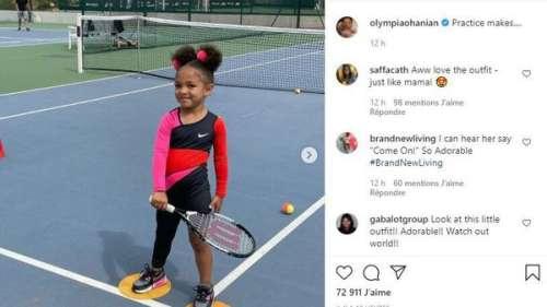 Serena Williams : sa fille porte une de ses tenues mythiques