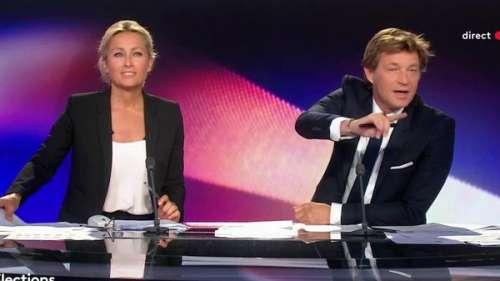 Régionales 2021 : Laurent Delahousse craque, en direct, à cause d'un débat inaudible
