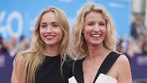 Alexandra Lamy : ses rares confidences sur sa fille Chloé Jouannet