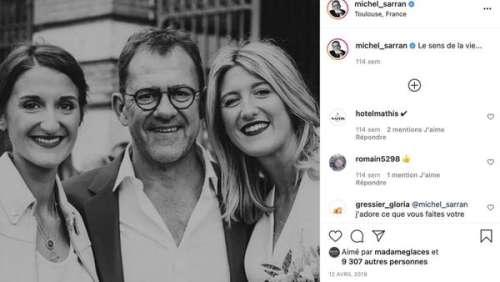 Michel Sarran (Top Chef) partage des photos du mariage de sa fille et fait une heureuse annonce