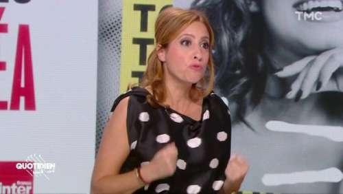 Léa Salamé : cette raison particulière pour laquelle elle n'a pas donné la parole à Marine Le Pen