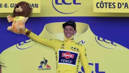 Mathieu Van der Poel maillot jaune : le magnifique message de sa sublime compagne