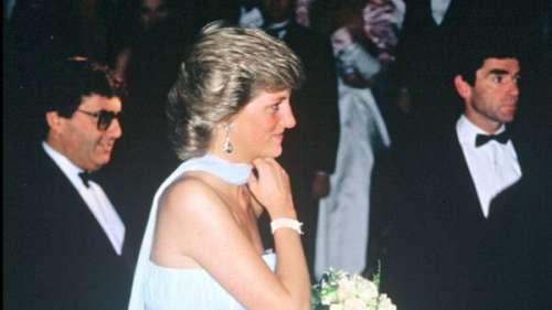 L'histoire derrière le look.Lady Diana :comment sa robe bustier avait subjugué le Festival de Cannes en 1987