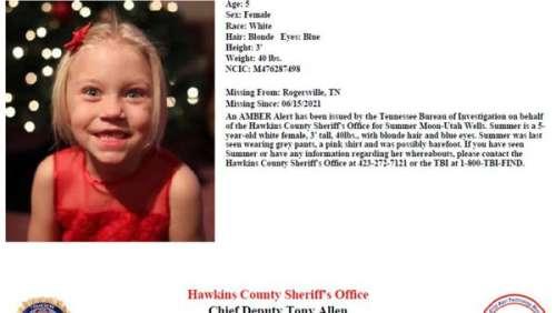 Qu'est-il arrivé à Summer, cette fillette de 5 ans portée disparue depuis plus de trois semaines ?