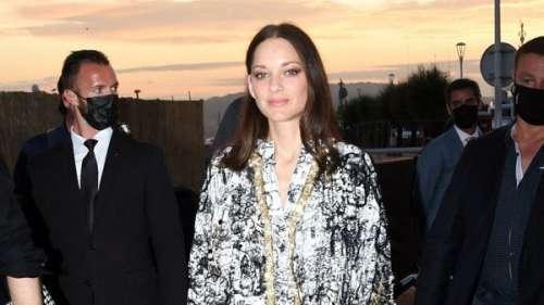 Marion Cotillard : son tour de force vestimentaire pour sa journée détente à Cannes