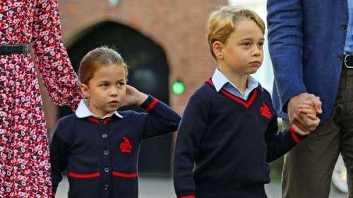 George et Charlotte : pourquoi ils ne sont pas autorisés à avoir de meilleurs amis à l'école