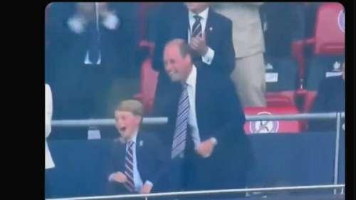Le prince George fou de joie : le fils de Kate et William déchaîné à Wembley