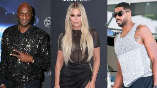 Khloé Kardashian : c'est la guerre entre ses ex, Lamar Odom et Tristan Thompson !