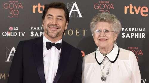 En deuil, Javier Bardem annonce la mort de sa mère, l'actrice Pilar Bardem
