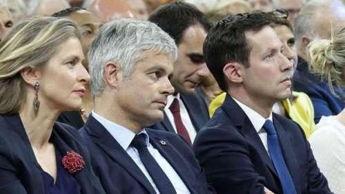 Laurent Wauquiez : cette allusion d'Emmanuel Macron qui lui a rappelé sa rencontre avec sa femme