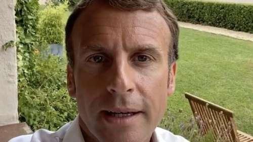 Emmanuel Macron : le Président répond, à sa façon, aux questions sur son T-shirt