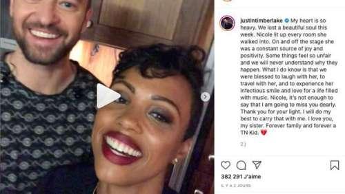 Justin Timberlake en deuil : le chanteur pleure la mort de l'un de ses proches