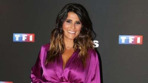 Karine Ferri : ce look dentelle tendance et estival qui met en valeur son décolleté et son bronzage