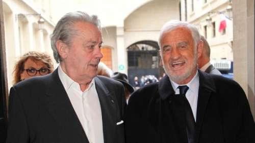 Mort de Jean-Paul Belmondo : Alain Delon a été prévenu avant l'annonce officielle