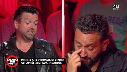 Cyril Hanouna en larmes : l'animateur craque après avoir reçu un cadeau ayant appartenu à Jean-Paul Belmondo (vidéo)
