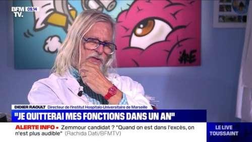 Vaccins : Didier Raoult jette un nouveau pavé dans la mare