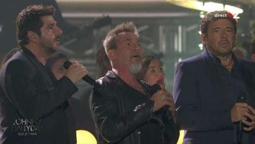 Concert hommage à Johnny Hallyday : trop ému, Patrick Bruel se trompe dans les paroles et crée un léger malaise