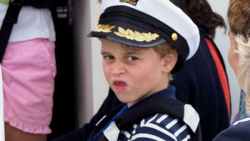 Prince George : pourquoi il s'est embrouillé avec le fils du cornemuseur d'Elizabeth II