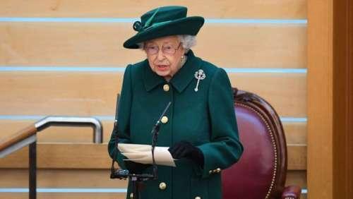 La reine Elizabeth II évoque pour la première fois la mort de son mari, le prince Philip