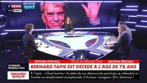 Mort de Bernard Tapie : l'énorme coup de gueule en direct de son fils Laurent Tapie (vidéo)