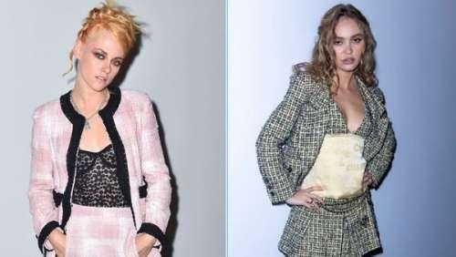 Fashion Week de Paris : Lily-Rose Depp et Kristen Stewart, stars du défilé Chanel