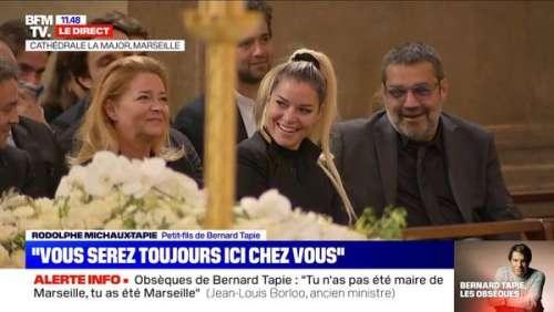Bernard Tapie : son petit-fils Rodolphe raconte un souvenir gênant, sa fille Sophie prise d'un fou-rire dans l'église