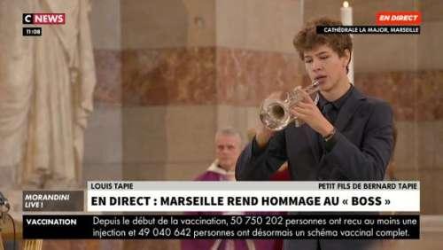 Obsèques de Bernard Tapie : cet hommage très personnel de son petit-fils Louis