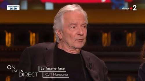 On est en direct : face à Cyril Hanouna, Pierre Arditi exprime très fermement ses opinions