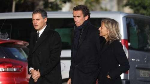 Obsèques d'Etienne Mougeotte : PPDA, Arthur, Nikos, Nicolas Sarkozy… lui rendent un dernier hommage
