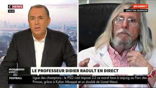 Coup de théâtre ! Didier Raoult a refusé de monter dans le taxi pour rejoindre Morandini Live