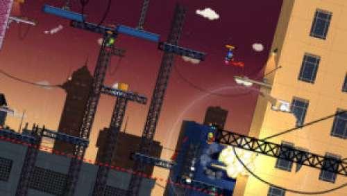Super Rocket Shootout – Bagarres explosives en 2D