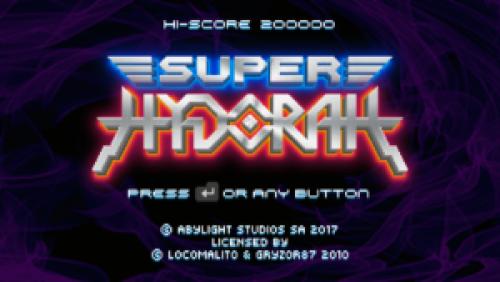 Super Hydorah – Un shmup old school