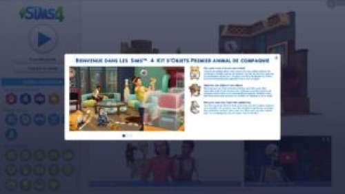 Les Sims 4 – Aperçu du kit d'objets «Premier animal de compagnie»