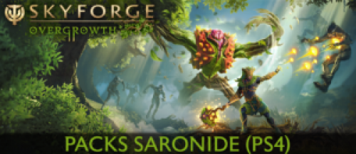 Skyforge – Distribution de Packs Saronide (PS4)